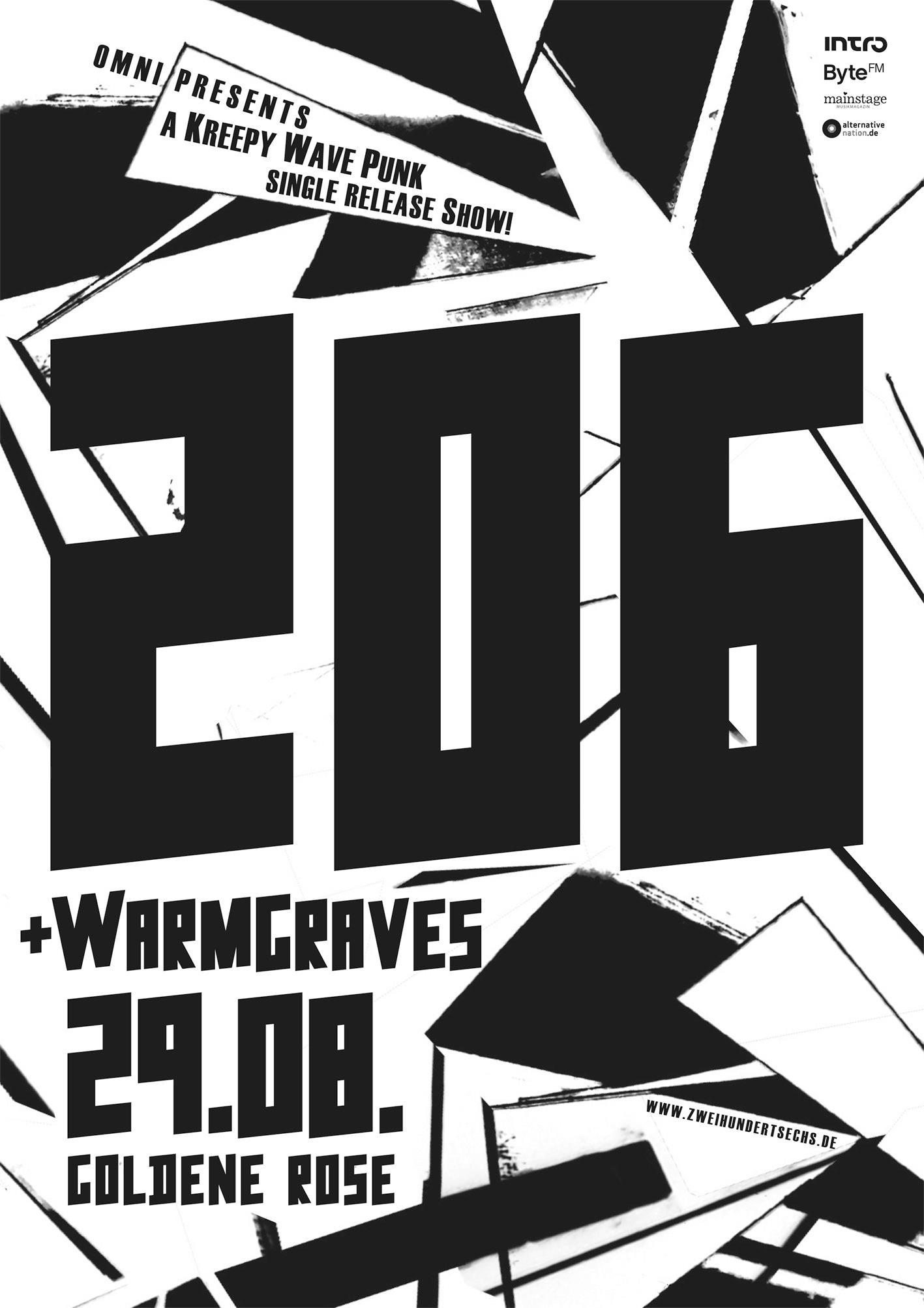 206 warm graves