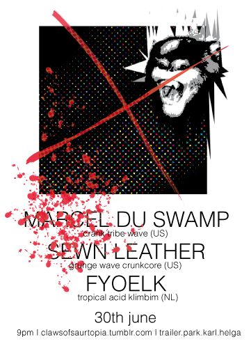 fyoelk marcel du swamp sewn leather