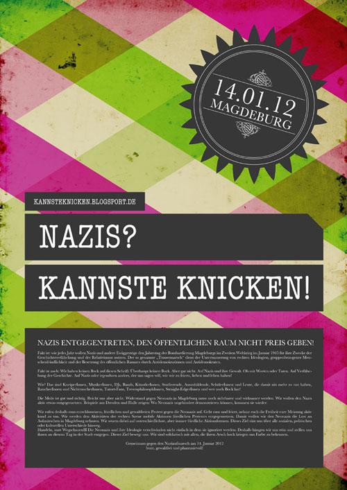 nazis kannste knicken