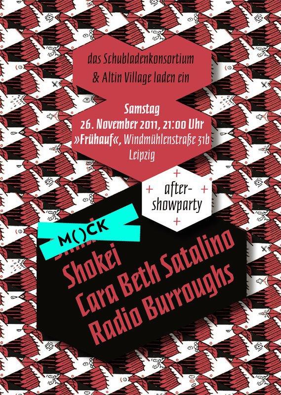 shokei. mock. radio burruoghs. cara beth satalino.